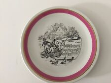 "Villeroy & Boch Mottahedeh Design ""Mignon"" Luxembourg Plate, 8"" D"