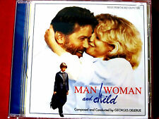 Man, Woman and Child motion picture soundtrack Georges Delerue NEW CD Quartet
