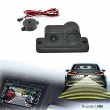 2in1 Car Parking Reversing Sensor Radar Rear View Backup Night Vision CCD Camera