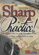 Sharp Practice II & Cards Too Fat Lardies Black Powder Skirmish Rules  New!