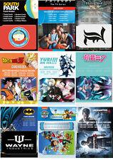 Card Holder Wallets 2 slot Anime, Cartoon, Superhero, Gaming and Movies