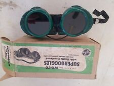 Vintage Welding Goggles Flash Protection Torch Safety Glasses Steampunk