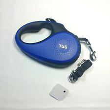 360degree Tangle-Free, Heavy Duty Retractable Dog Leash (Medium, Blue)