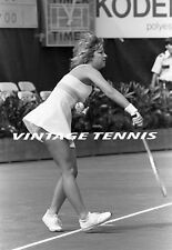 1970'S CHRIS EVERT =8 x 10 TENNIS PHOTO