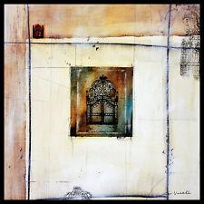 Niro vasali affilia i póster imagen son impresiones artísticas con marco de aluminio en negro 60x60cm