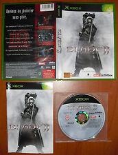 Blade II, MARVEL,  Xbox PAL ¡¡COMPLETO Y EN BUEN ESTADO!!