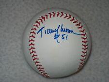 RANDY JOHNSON HOF AUTOGRAPHED SIGNED MLB SELIG BASEBALL EXPOS MARINERS