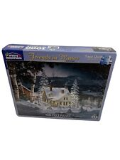 White Mountain 1000 piece Jigsaw Puzzle - Friends in Winter