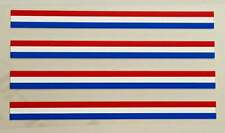 Stripes sku 949 Olympic Colors plus White /& Metallic Gold