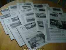 Boss 429 Directory Newsletters, complete set! 17 different issues. Steve Strange