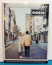 Oasis What's The Story, Morning Glory PIANO GUITAR VOICE Hal Leonard Corporation