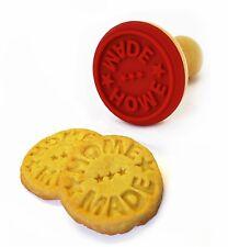 Suck UK cookie en bois cachet biscuit Fait maison message stamper Cutter cadeau de Noël