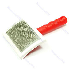 New For Dog Cat Large Shedding Grooming Hair Brush Comb