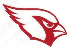 REFLECTIVE Arizona Cardinals fire helmet motorcycle hard hat decal sticker yeti