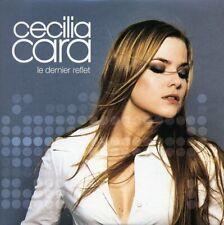 """CD  single PROMO collector de Cécilia CARA, """"Le dernier reflet"""",  NEUF."""