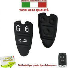 TASTI GOMMINO NERO RICAMBIO PER CHIAVE TELECOMANDO 159 BRERA Q4 ALFA ROMEO KEY