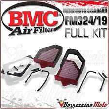Full Kit BMC Filtre À air Sportif Lavable Fm324/19 Ducati 916 1996 96