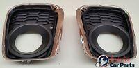 Foglamp covers & Chrome surrounds VE Commodore S2 SS SV6 2010- NEW GENUINE fog