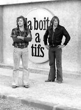 PHOTO LES VALSEUSES - PATRICK DEWAERE & GERARD DEPARDIEU (P5N) FORMAT 20X27 CM