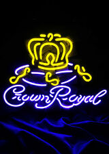 """""""Crown Royal"""" Neon Sign Night Club Pub Beer Bar Man Cave Canteen Vintage Store"""