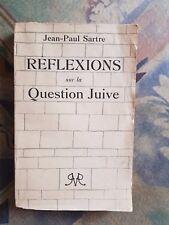 46 L.-F. Céline Collabo Paris Jean-Paul Sartre Réflexions sur la question juive
