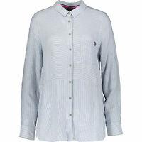 Superdry Women's TATUM Blue Striped Shirt, size M / UK 12