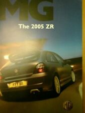 Paper MG ZR Sales Car Brochures