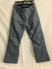Oakley BIOZONE Snowboard Ski Winter Pants Mens Size small, Gray VGUC