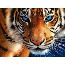 Full Drill 5D Diamond Painting Embroidery Craft Animal Tiger Home Decor