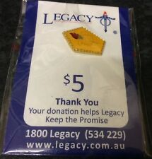 Australian Legacy Pin Badge