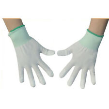 1 Pair Quilting Tools & Equipment Sewing Nylon White Color Gloves Home & Living