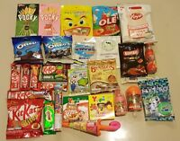 Asian Sweets Set Random Candy Gum Cookie Snacks Many Brands Worldwide Shipping