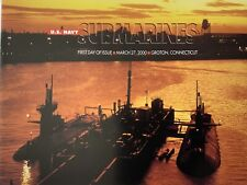 More details for mint 2000 usa - us navy submarines- booklet  with stamps