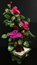"22"" MULTI JADE BONSAI FLOWERS TREE (99-2)"