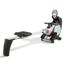 Marcy R800 Folding 8 Level Indoor Magnetic Rowing Machine Home Gym Rower