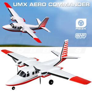 E-flite EFLU5850 UMX Aero Commander BNF Basic Airplane with AS3X