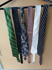 Lot of 6 Men's Dress Skinny Necktie: APT.9, Kenneth Cole, Arrow etc