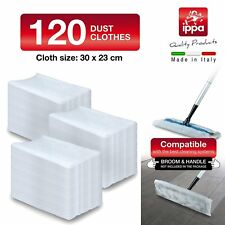 Floor Wipes Dusting Mop Cloth Refill Swiffer System Compatible Dry 120 Pack- New