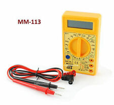 Pocket-Sized Digital Multimeter Tester with Buzzer, CablesOnline MM-113