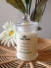 1 X FRANGIPANI   # Scented Soy Wax Candle -30Hr burn time - MADE IN AUS
