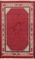 Paisley Botemir Traditional Oriental Area Rug Hand-knotted Wool Foyer Carpet 4x6