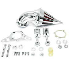 Air Cleaner Filter For Harley Softail Fat Boy Dyna Street Bob Wide Glide Chrome