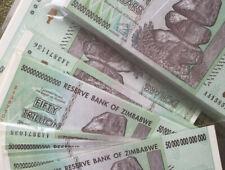 Z 50 Trillion Zimbabwe Paper Money For Ebay
