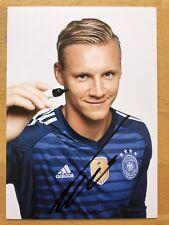Bernd Leno AK DFB WM 2018 Autogrammkarte original signiert