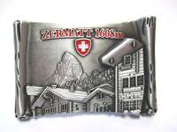 Zermatt Metall Magnet 7cm Matterhorn Souvenir Schweiz Neu
