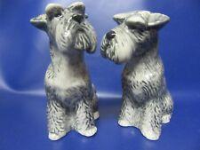 Schnauzer Salt and Pepper Pots Schnauzer Dog Cruet - Gift Boxed - NEW