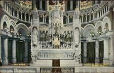 Tampa FL Church Interior c1910 Postcard