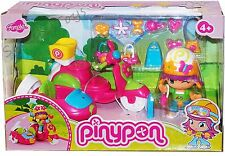 PinyPon Side-car SCOOTER Moto Bike Pinypon Doll figure Accesories Playset NEW