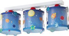 Dalber 41343 pianeta Lampada da soffitto 3 Bracci in plastica Blu (i6h)