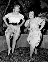 I Love Lucy Cast Lucille Ball Grape Stomping B/W  8x10 Photo